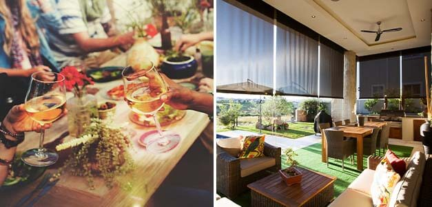 All Outdoor Blinds, Al Fresco Blinds, Blind Designs