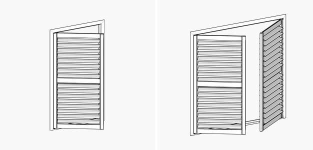 Altra Shutters, Altra Shutters, Blind Designs