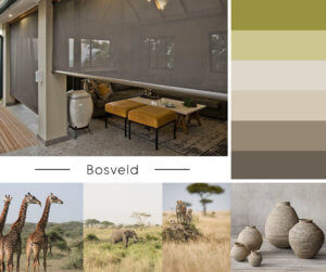 Inspired by African Bosveld, Inspired by African Bosveld, Blind Designs