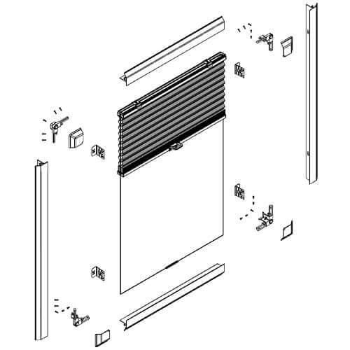 Honeycombe Blind, Cellular Perfect Fit Blinds, Blind Designs